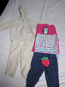 Baby girl clothes size 6m