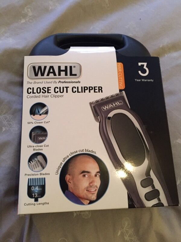 Wahl Close Cut Hair Clipper New Unopened