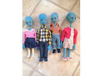 Argos Alien Family.