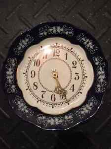 Zsolnay Decorative Wall Clock Cambridge Kitchener Area image 1