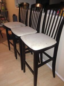 3 Chairs at $10 each