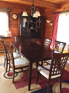 Dinning tabel 6 chairs and buffet forsale