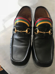 Men's Gucci rainbow horsebit loafers (the Harry Styles)