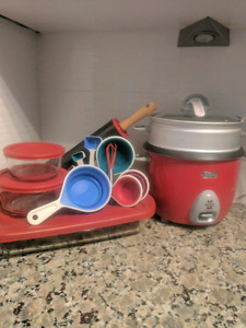 Canada Day Red Kitchen items!