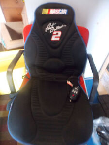 NASCAR RUSTY WALLACE #2 OBUSFORM MASSAGER SEAT COVER