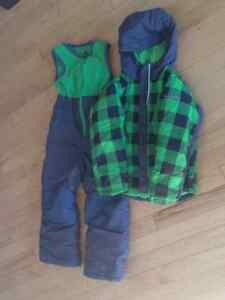 2 piece boys Columbia omnishield snowsuit