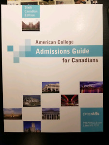 American College Admissions Guide for Canadians (6th Edition)