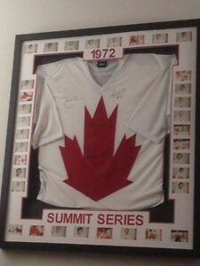 Autographed 1972 Team Canada
