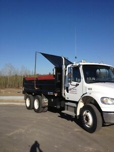 Tandem Dump Truck for Hire
