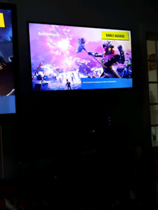 Ps4 1tb and 50inc tv with stand