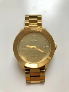 Nixon: Men's Watch in Gold