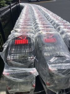 Massive shopping carts & shopping baskets for clearance sale !