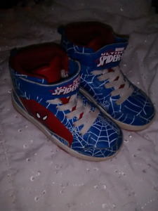 Spider Man Costume & Shoes!!