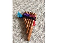 Wooden Pan Pipes