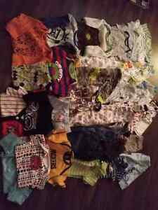 Boy and girl clothing lots