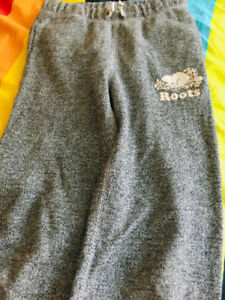 Roots GIRLS Original Sweatpant - Size 8