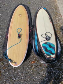 Watercooled fish - 6ft 3 inches (surfboard on right)