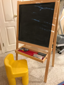 Kid's Easel, including chair