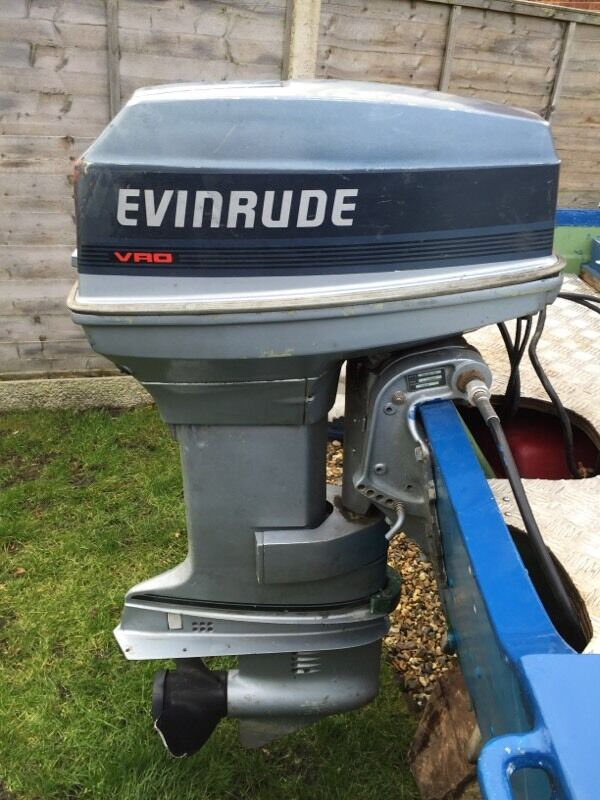 Evinrude 50hp 2 stroke outboard in watton norfolk gumtree for Evinrude outboard jet motors for sale