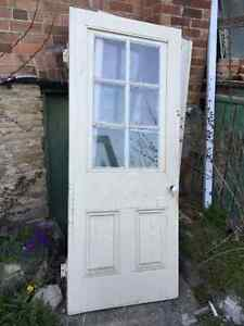 Old Solid wood doors and windows