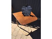 Vintage retro staples cantilever side table bedroom mobility aid retro kitsch