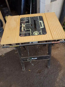 Tablesaw work bench for sale