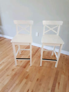Bar stools in mint condition. Price drop: Two for $99.99