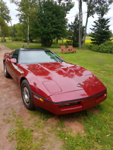 Original 84 Corvette Z51 excellent car