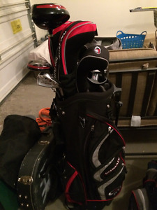 Youth Golf Clubs and Carry Bag