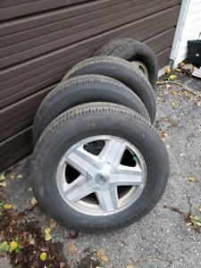 Tires & Rims - P245/65R17