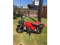 jincheng 110cc monkeybike Honda lifan camper pit bike