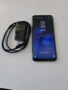 Galaxy S8 Plus, Factory Unlocked, Mint condition