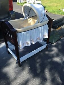 White crib for sale kijiji - Bassinet Buy Or Sell Baby Items In Moncton Kijiji Classifieds