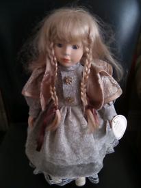 Doll antique porcelain doll . Name Anne