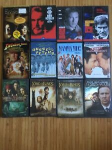 Lot of DVD and BluRay discs
