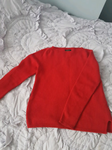 Massimo Dutti wool red sweater