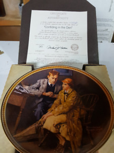 Collector Plates by Norman Rockwell (Rediscovered Women)