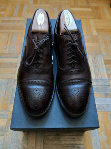Allen Edmonds Brown Strand Cap-toe Oxford 6.5E