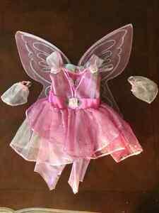 Costume Princesse Papillon 3-4 ans