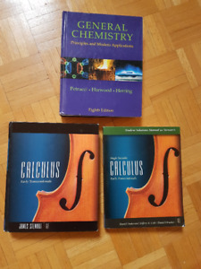 Calculus, Sociology, Chemistry, Misc LOT#3
