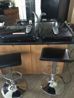 Bell tv 1 HD PVR and 2 HD receivers excellent shape