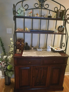 Bakery rack / console for living room