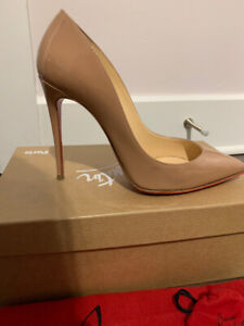 Christian Louboutin Pigalle Nude Size 7