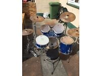 Mapex QR Series Drum Kit For Sale