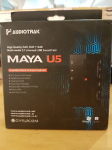Audiotrak MAYA U5 carte de son USB