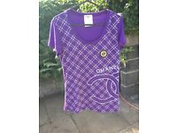 Purple Chanel top