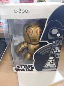 5 Funko pop et Mighty Muggs vynil figures Star Wars and