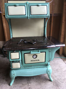 """Peacock"" Wood burning cooking stove"