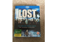 Lost Series 4&5 Blu Ray