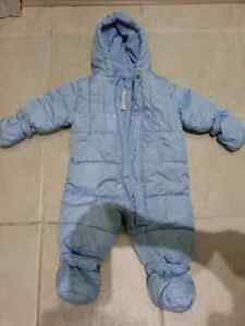 3-6 month snowsuit